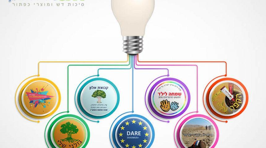 פעילות סיכות הדש ומוצרי הכפתור – תחומים ודוגמאות
